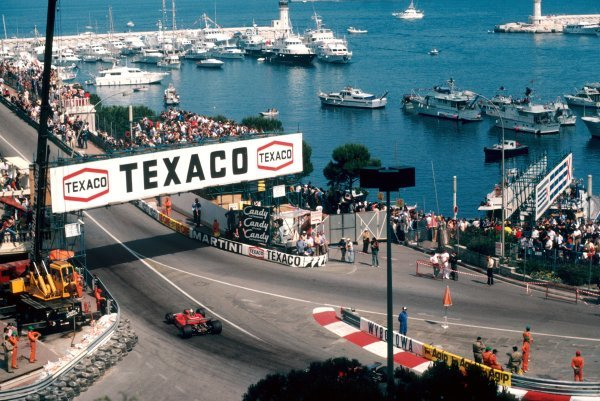Race winner Jody Scheckter (RSA) Ferrari 312T4 leads team mate Gilles Villeneuve (CDN) Ferrari 312T4, who retired from the race on lap 55 with a broken transmission. Monaco Grand Prix, Rd 7, Monte Carlo, Monaco, 27 May 1979. BEST IMAGE