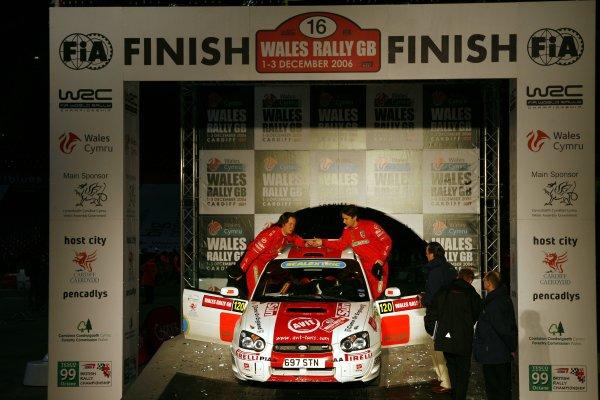 2006 British Rally Championship.Wales Rally GB. 1st-3rd December 2006.Rob Gill, World Copyright: Ebrey/LAT Photographic.