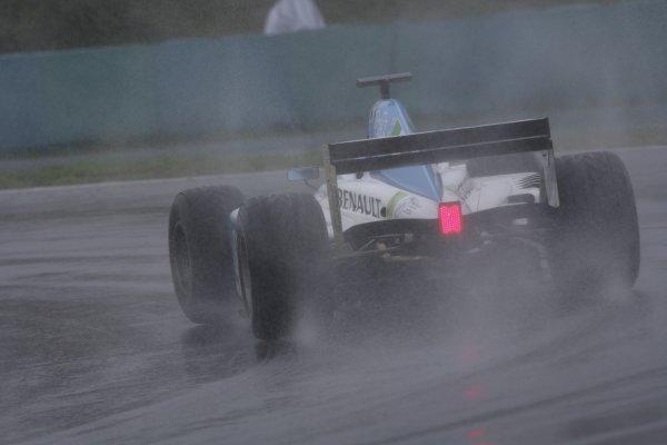 2006 GP2 Series Round 9. Hungaroring, Budapest, Hungary. 6th August 2006. Sunday race.Sergio Hernandez (ESP, Durango). Action. World Copyright: Charles Coates/GP2 Series Media Service. Ref: Digital Image Only.ZK5Y4361 jpg