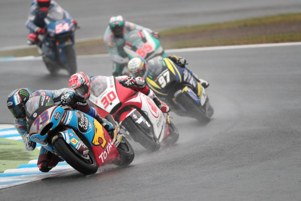 2017 Moto2 Championship - Round 15 Motegi, Japan. Sunday 15 October 2017 Alex Marquez, Marc VDS World Copyright: Gold and Goose / LAT Images ref: Digital Image 698113