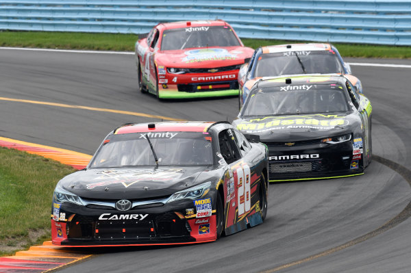 NASCAR XFINITY Series Zippo 200 at The Glen Watkins Glen International, Watkins Glen, NY USA Saturday 5 August 2017 Dakoda Armstrong, JGL Racing Toyota Camry World Copyright: John K Harrelson LAT Images
