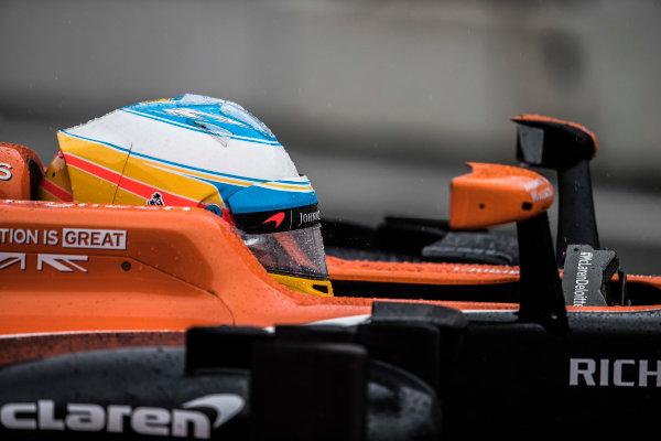 Suzuka Circuit, Japan. Friday 6 October 2017. Fernando Alonso, McLaren. World Copyright: Glenn Dunbar/LAT Images  ref: Digital Image _31I6564