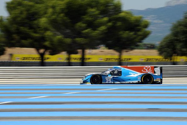2017 European Le Mans Series, Le Castellet, France. 25th - 27th August 2017. # 25  Andrea Roda (ITA) / Matthew McMurry (USA) / Andrea Pizzitola (FRA) - ALGARVE PRO RACING - Ligier JSP217 - Gibson World Copyright: JEP/LAT Images