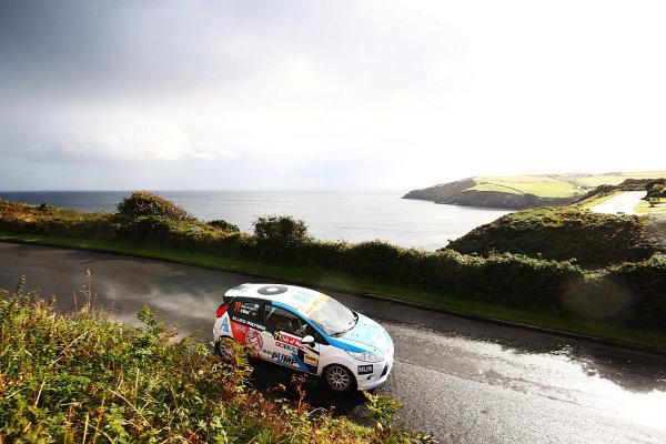 2017 Prestone MSA British Rally Championship, Rally Isle of Man. 14th - 16th September 2017. Nabila Tejpar / Richard Bliss Ford Fiesta. World Copyright: JEP/LAT Images