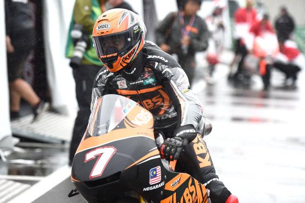 2017 Moto3 Championship - Round 15 Motegi, Japan. Friday 13 October 2017 Adam Norrodin, SIC Racing Team World Copyright: Gold and Goose / LAT Images ref: Digital Image 21498