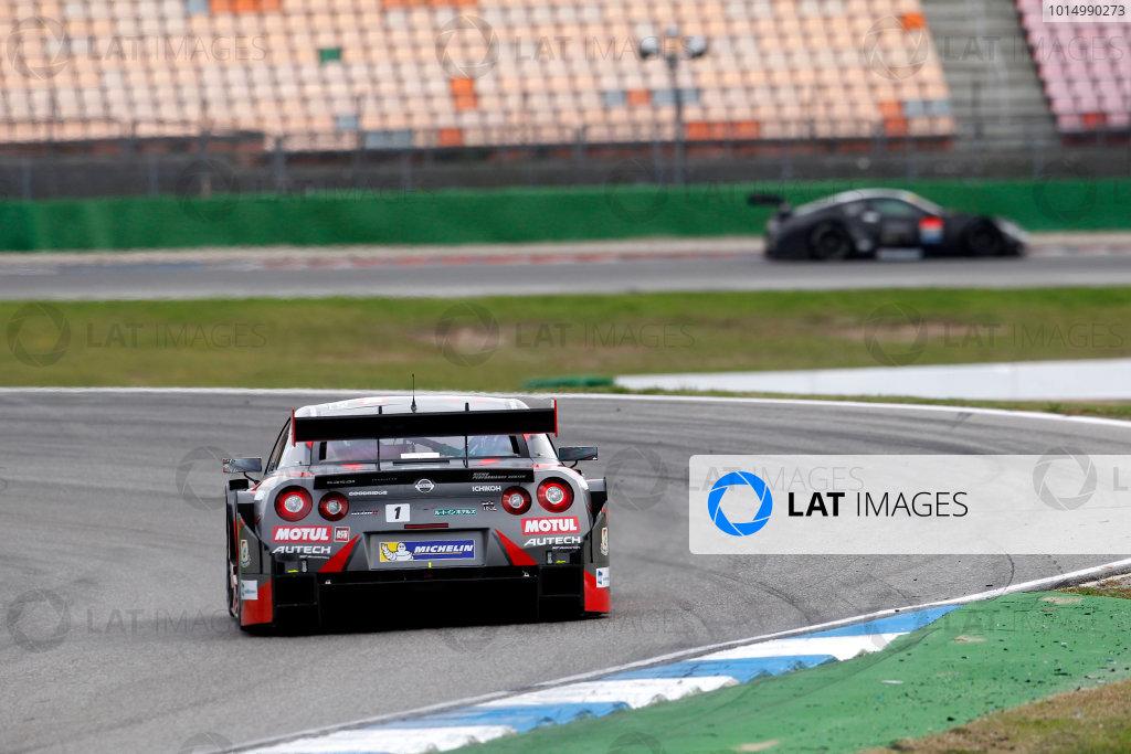 2017 DTM Round 9  Hockenheimring, Germany  Friday 13 October 2017. Ronnie Quintarelli, Nissan GT-R  World Copyright: Alexander Trienitz/LAT Images ref: Digital Image 2017-DTM-HH2-AT3-0330