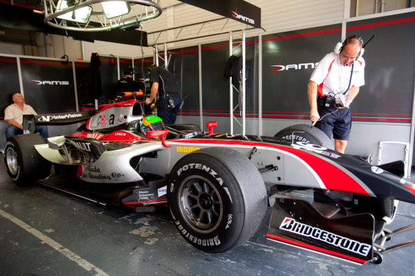 Jerez, Spain. Thursday 8th October. Alexander Rossi (USA, Dams). World Copyright: Alastair Staley/ GP2 Series Media Service.Ref: _P9O5705 jpg