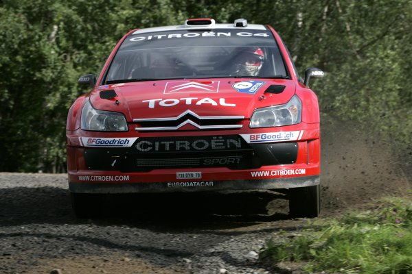 2007 FIA World Rally Champs. Round nineRally Finland.2nd-5th August 2007.Danni Sordo, Citroen, action.World Copyright: McKlein/LAT