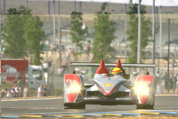 2007 Le Mans Test Day2nd and 3rd June 2007.Le Mans, France.Sunday Test DayFrank Biela (DEU)/Emanuele Pirro (ITA)/Marco Werner (DEU) (no 1 Audi R10 TDI) action.World Copyright: Kevin Wood/LAT Photographic. ref: Digital Image IMG_2028