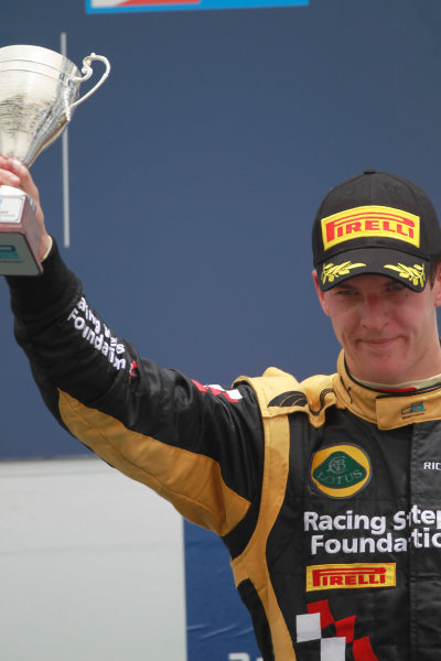 Bahrain International Circuit, Sakhir, Bahrain. 22nd April. Sunday Race.James Calado (GBR, Lotus GP). World Copyright: Andrew Ferraro/GP2 Media Service. Ref: Digital Image _Q0C8577.jpg