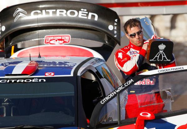 Round 01-Rally Monte Carlo 17-22 January 2012. Sebatien Loeb, Citroen WRC, PodiumWorldwide Copyright: McKlein/LAT