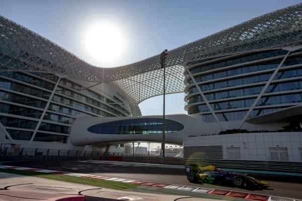 2016 GP3 Series Test 5. Yas Marina Circuit, Abu Dhabi, United Arab Emirates. Thursday 1 December 2016. Tarun Reddy (IND, DAMS)  Photo: Zak Mauger/GP3 Series Media Service. ref: Digital Image _L0U3665