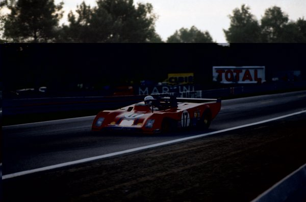 1973 Le Mans 24 hours.Le Mans, France. 9-10 June 1973.Carlos Reutemann/Tim Schenken (Ferrari 312PB), retired.World Copyright: LAT PhotographicRef: 35mm transparency 73LM15