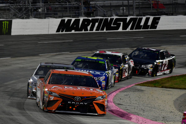Monster Energy NASCAR Cup Series First Data 500 Martinsville Speedway, Martinsville VA USA Sunday 29 October 2017 Daniel Suarez, Joe Gibbs Racing, ARRIS Toyota Camry World Copyright: Scott R LePage LAT Images ref: Digital Image lepage-171029-mart-9203