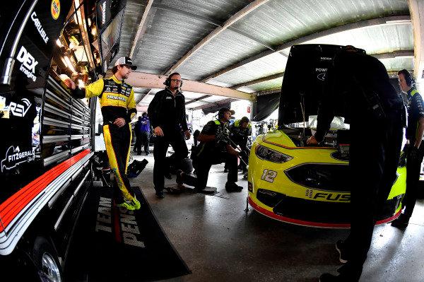 #12: Ryan Blaney, Team Penske, Ford Fusion Menard's / Duracell