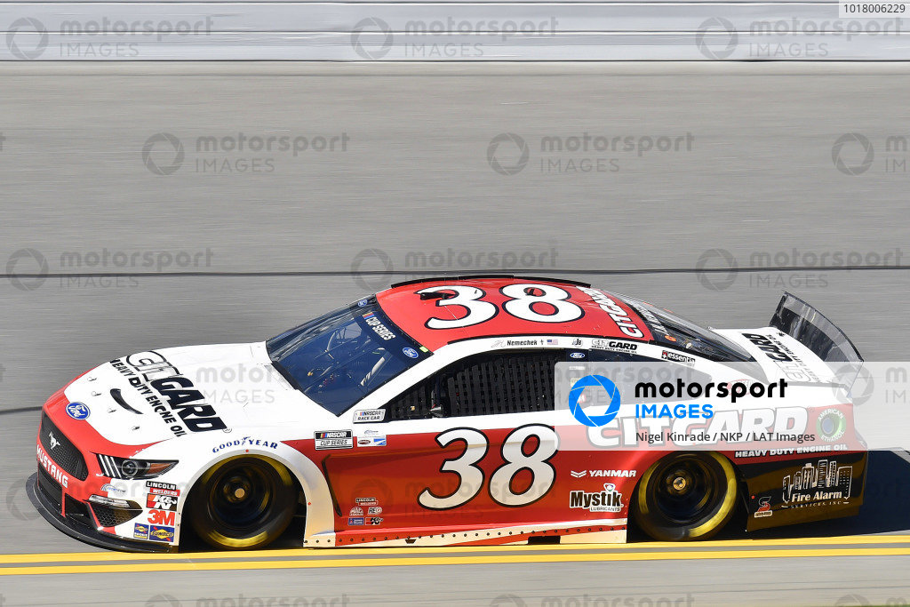 #38: John H. Nemechek, Front Row Motorsports, Ford Mustang Citgard