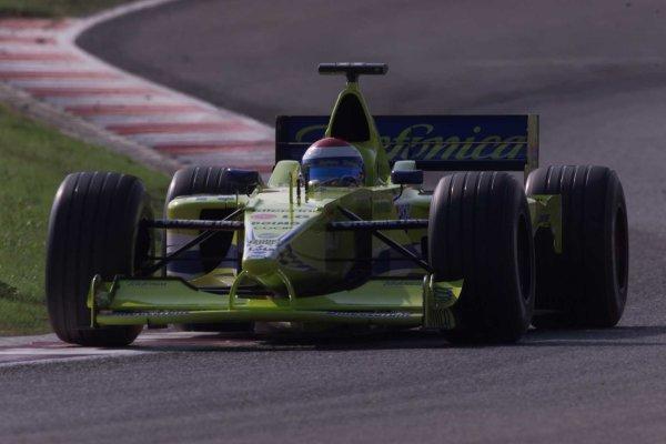 2000 Spanish Grand Prix.Catalunya, Barcelona, Spain.5-7 May 2000.Gaston Mazzacane (Minardi M02 Ford).World Copyright - LAT Photographic