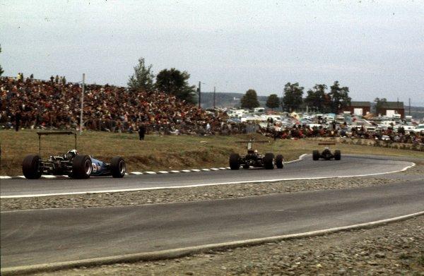 1968 United States Grand Prix.Watkins Glen, New York, USA.4-6 October 1968.Jackie Stewart (Matra MS10 Ford) 1st position.Ref-68 USA 52.World Copyright - LAT Photographic