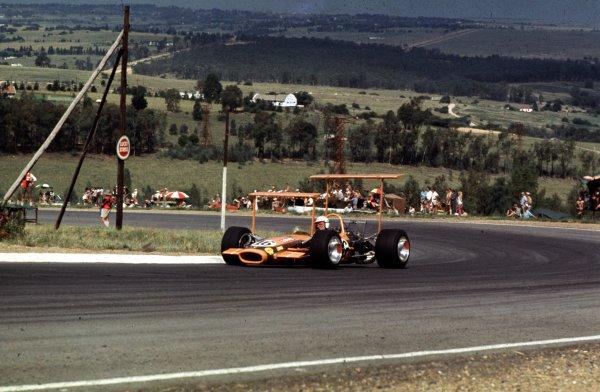1969 South African Grand Prix.Kyalami, South Africa.27/2-1/3 1969.John Love (Lotus 49 Ford).Ref-69 SA 46.World Copyright - LAT Photographic