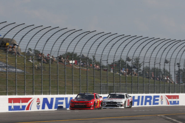 #00: Cole Custer, Stewart-Haas Racing, Ford Mustang Haas Automation #7: Justin Allgaier, JR Motorsports, Chevrolet Camaro BRANDT / Rev1 Energy