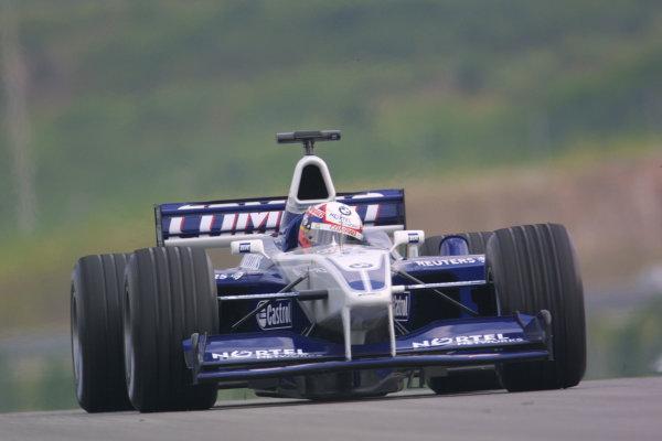 2001 Malaysian Grand Prix.Sepang, Kuala Lumpur, Malaysia. 16-18 March 2001.Juan-Pablo Montoya (Williams FW23 BMW).World Copyright - LAT Photographicref: 8 9MB DIGITAL IMAGE