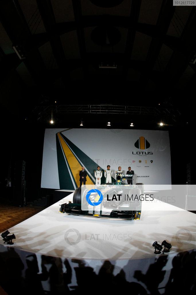 Lotus T127 Launch