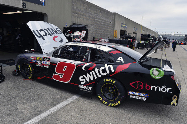 #9: Noah Gragson, JR Motorsports, Chevrolet Camaro Switch