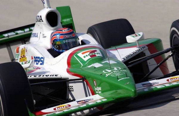 2003 IRL IndyCar Homestead, 2/28-3/2,2003, Homestead-Miami Speedway, USA Tony Kanaan.