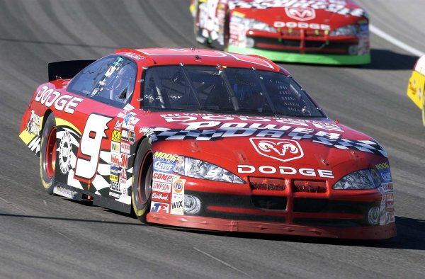 2003 NASCAR-Las Vegas, Nevada ,March 01-03, 2003Bill Elliott at speedWorld Copyright -ImageTech 2003LAT Photographic-ref: digital image