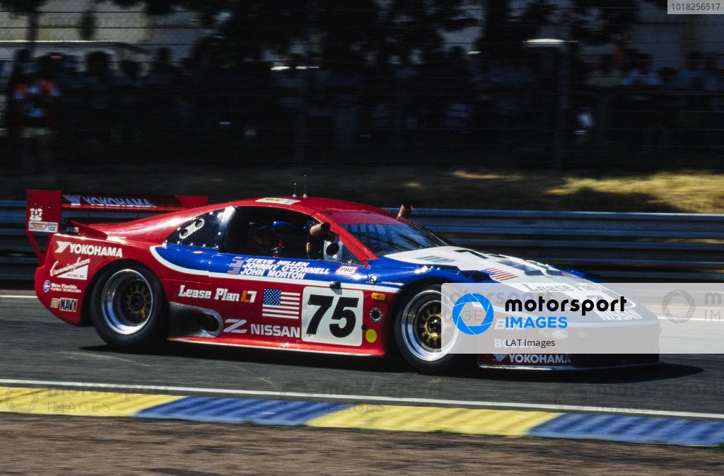 Steve Millen / Johnny O'Connell / John Morton, Clayton Cunningham Racing Inc, Nissan 300 ZX Turbo.