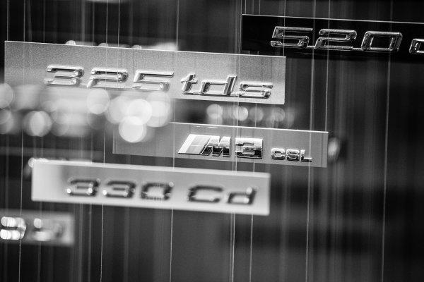 BMW models nameplates
