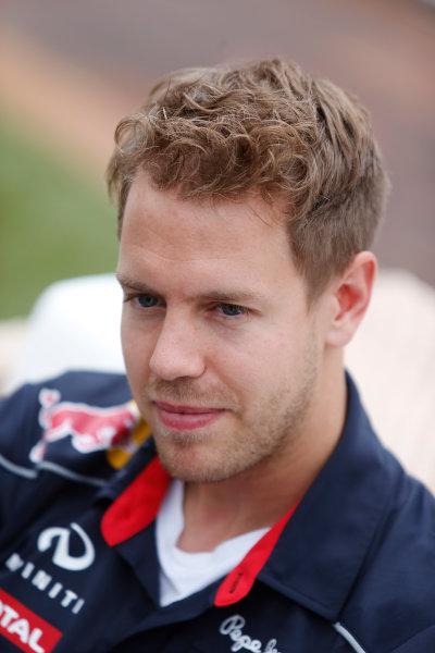 Monte Carlo, Monaco 22nd May 2013 Sebastian Vettel, Red Bull Racing World Copyright: Charles Coates/LAT Photographic ref: Digital Image _N7T0668