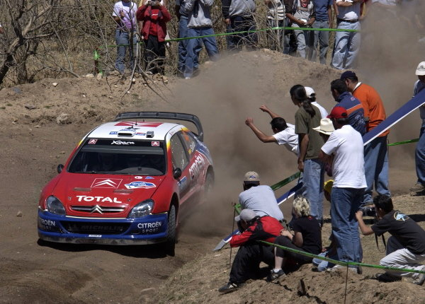 Carlos Sainz (ESP) / Marc Marti (ESP) Citroen Xsara WRC.