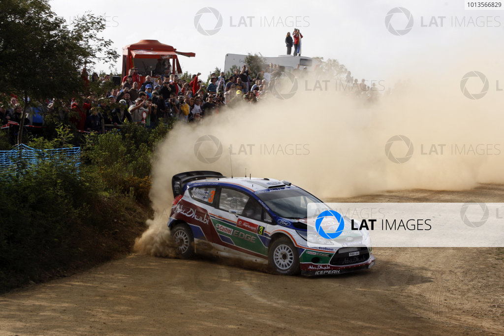 Round 03-Rally Portugal. 23th-27th March 2011.Mikko Hirvonen, Ford WRC, Action.Worldwide Copyright: McKlein/LAT
