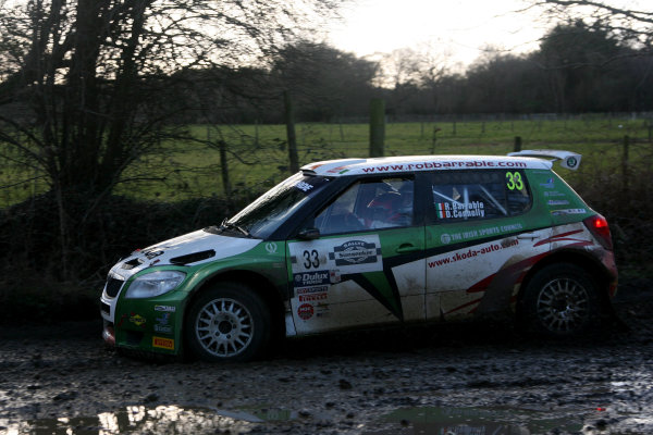 Rallye Sunseeker, 25th-26th February 2011Robert Barrable/Damien Connolly - Skoda Fabia S2000World Copyright: Ebrey/LAT Photographic