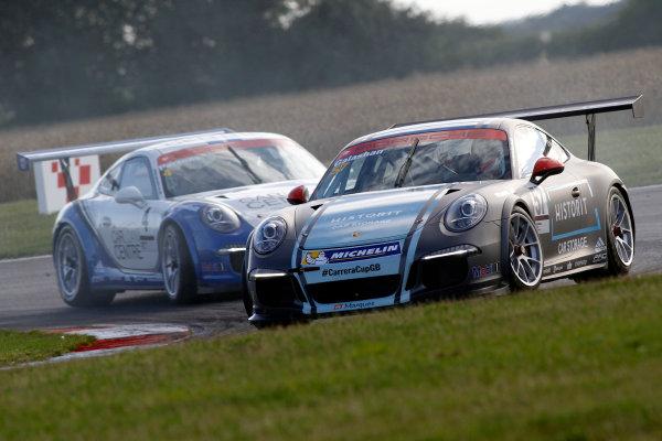 2015 Porsche Carrera Cup, Snetterton, Norfolk. 8th-9th August 2015, Galashan (GBR)  World copyright.Jakob Ebrey/LAT Photographic