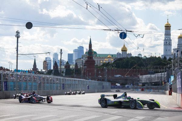 2014/2015 FIA Formula E Championship. Moscow ePrix, Moscow, Russia. Saturday 6 June 2015 Antonio Garcia (SPA)/China Racing - Spark-Renault SRT_01E. Photo: Zak Mauger/LAT/Formula E ref: Digital Image _L0U1259