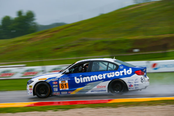 IMSA Continental Tire SportsCar Challenge Road America 120 Road America, Elkhart Lake, WI USA Friday 4 August 2017 81, BMW, BMW 328i, ST, Ari Balogh, Greg Liefooghe World Copyright: Jake Galstad LAT Images