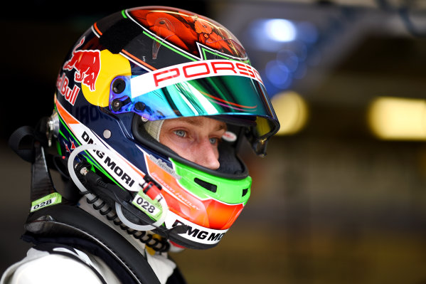 2017 Le Mans 24 Hours test day. Circuit de la Sarthe, Le Mans, France. Sunday 4 June 2017 Brendon Hartley, Porsche Team World Copyright: Rainier Ehrhardt/LAT Images ref: Digital Image 24LM-testday-re-2949