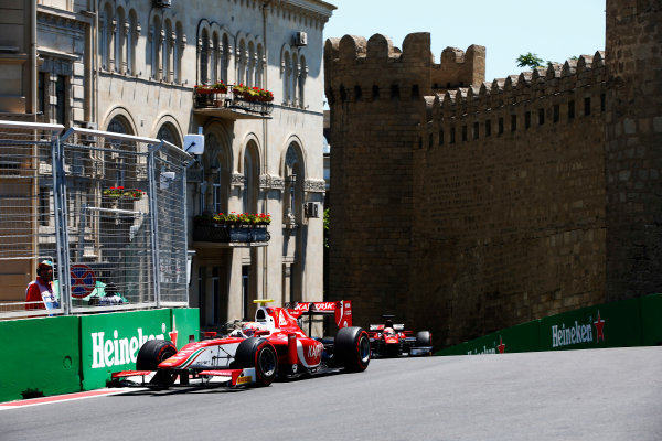 Baku City Circuit, Baku, Azerbaijan. Saturday 24 June 2017. Antonio Fuoco (ITA, PREMA Racing)  World Copyright: /LAT Images ref: Digital Image _ONY9610