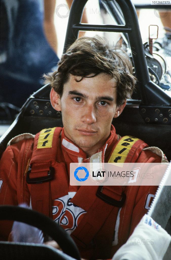 1983 Marlboro British F3 Championship.