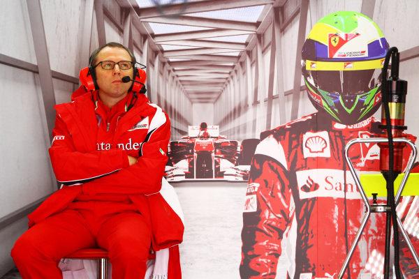Stefano Domenicali (ITA) Ferrari General Director.  Formula One World Championship, Rd 4, Turkish Grand Prix, Practice Day, Istanbul Park, Turkey, Friday 6 May 2011.  BEST IMAGE