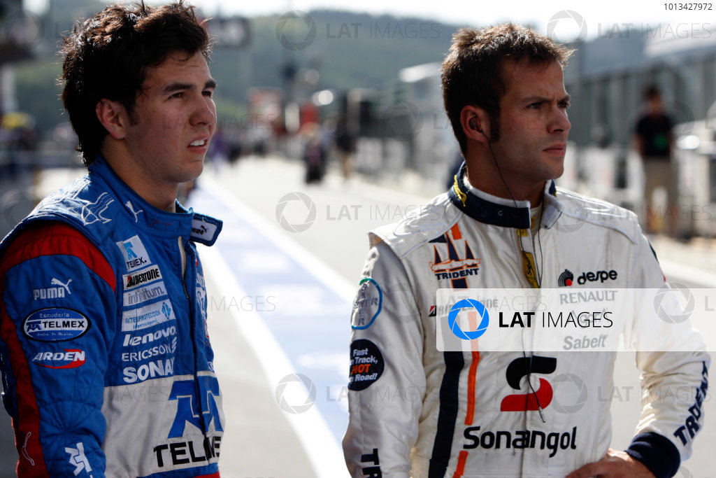 Spa-Francorchamps, Spa, Belgium. 30th August 2009.