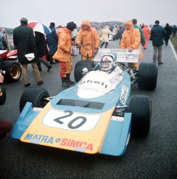 Zandvoort, Holland.18-20 June 1971.Chris Amon (Matra-Simca MS120B).Ref-3/4774I.World Copyright - LAT Photographic