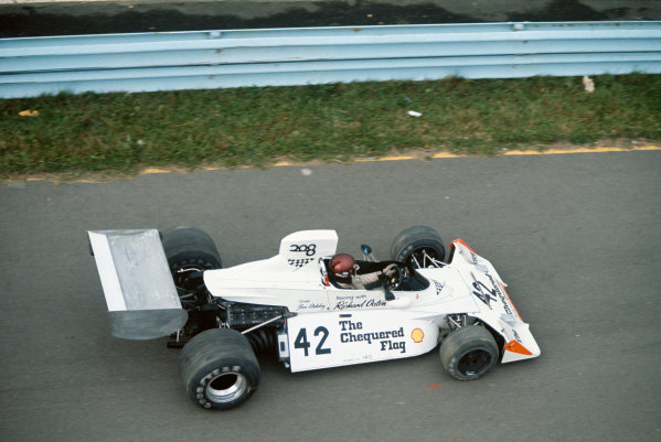 Watkins Glen, New York, USA. 4-6 October 1974. Ian Ashley, Brabham BT42 Ford, did not qualify. Action. Ref: 74USA25. World Copyright: LAT Photographic