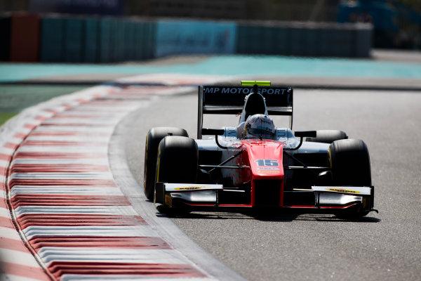2017 FIA Formula 2 Round 11. Yas Marina Circuit, Abu Dhabi, United Arab Emirates. Friday 24 November 2017. Jordan King (GBR, MP Motorsport).  Photo: Sam Bloxham/FIA Formula 2. ref: Digital Image _W6I2138