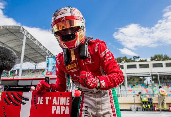 2017 FIA Formula 2 Round 4. Baku City Circuit, Baku, Azerbaijan. Friday 23 June 2017. Charles Leclerc (MCO, PREMA Racing)  Photo: Zak Mauger/FIA Formula 2. ref: Digital Image _54I0904