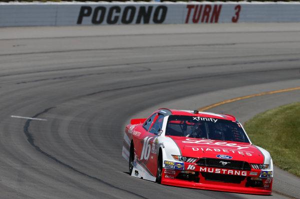 NASCAR XFINITY Series Pocono Green 250 Pocono Raceway, Long Pond, PA USA Friday 9 June 2017 Ryan Reed, Lilly Diabetes Ford Mustang World Copyright: Matthew T. Thacker LAT Images ref: Digital Image 17POC1mt1011