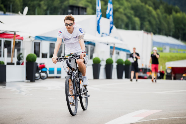 2017 FIA Formula 2 Round 5. Red Bull Ring, Spielberg, Austria. Thursday 6 July 2017. Artem Markelov (RUS, RUSSIAN TIME).  Photo: Zak Mauger/FIA Formula 2. ref: Digital Image _56I0319