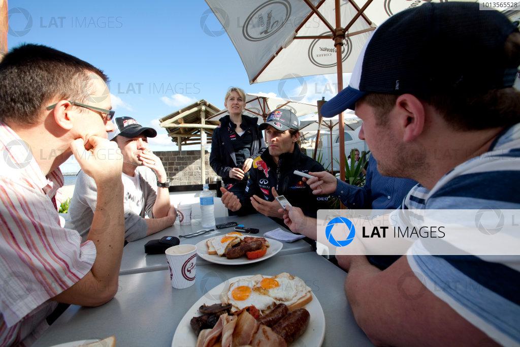 Albert Park, Melbourne, Australia23rd March 2011.Mark Webber, Red Bull Racing RB7 Renault.World Copyright: Alastair Staley/LAT Photographicref: Digital Image AS5D5975